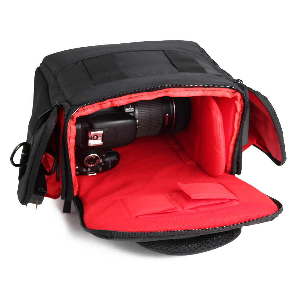 große Kameratasche für Nikon Coolpix B500 Fototasche Materialtasche Camera bag