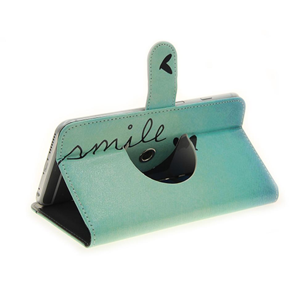 360-Wallet-Case-p-Allview-X3-Soul-Style-smile-Portafoglio-Caso-universale-bor
