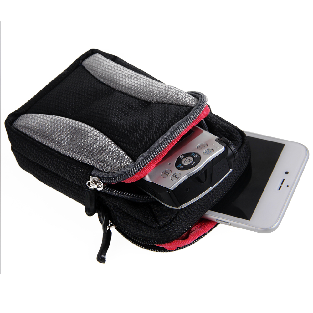 Kamera-Tasche-fuer-Canon-PowerShot-SX730-HS-Umhaengetasche-Guerteltasche-Holster