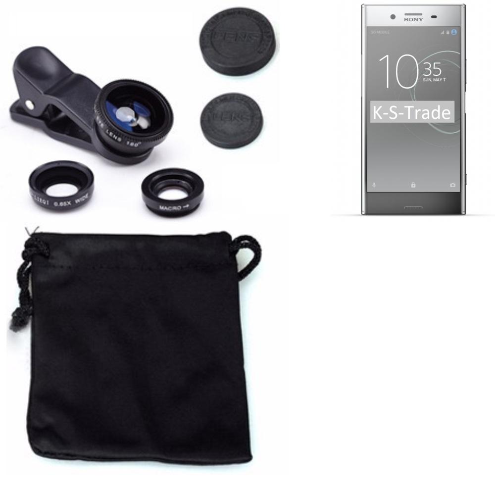 Sony Xperia XZ Premium Smartphone Objektiv Linsen Set Weitwinkel Fischauge Makro