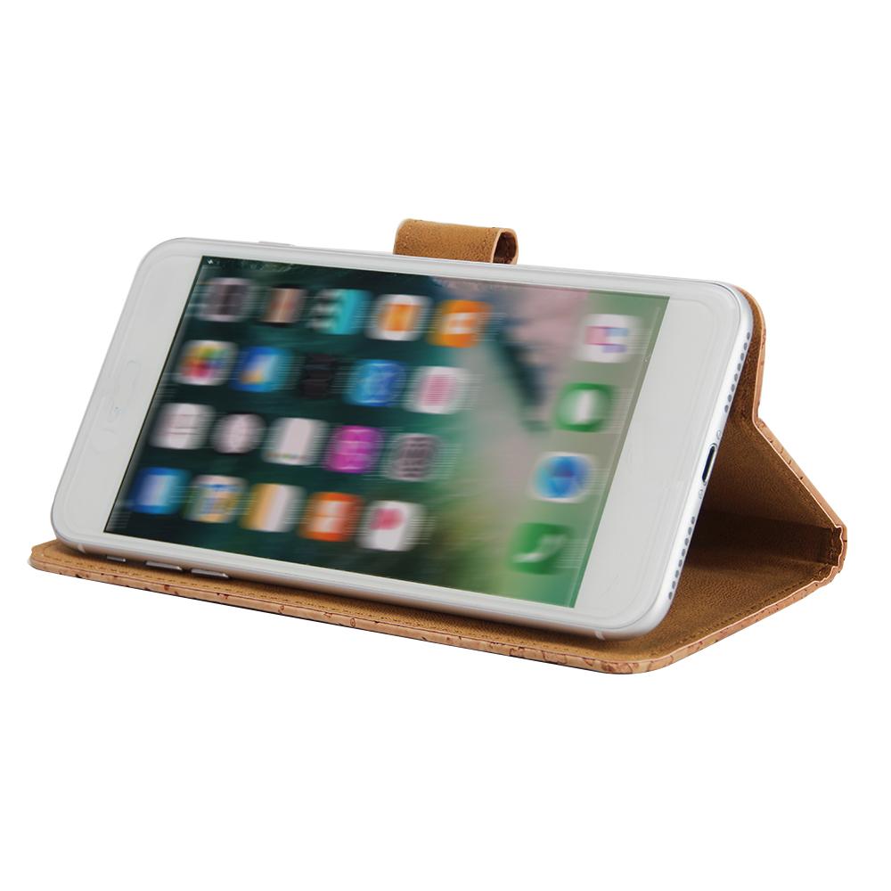Wallet-case-f-Medion-Life-X5520-Kork-Schutz-Huelle-Walletcase-Cover-Tasche