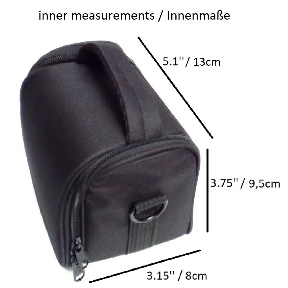 Kameratasche-fuer-Nikon-Coolpix-B500-Fototasche-Materialtasche-Tragetasche-Camer