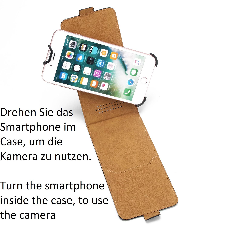 for-Xiaomi-Mi-6-Flip-Case-Protective-Cover-360-Camera-Protective-Black-Artific